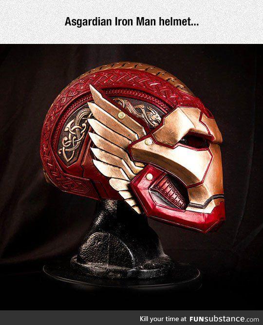 Iron Man's Asgardian Helmet