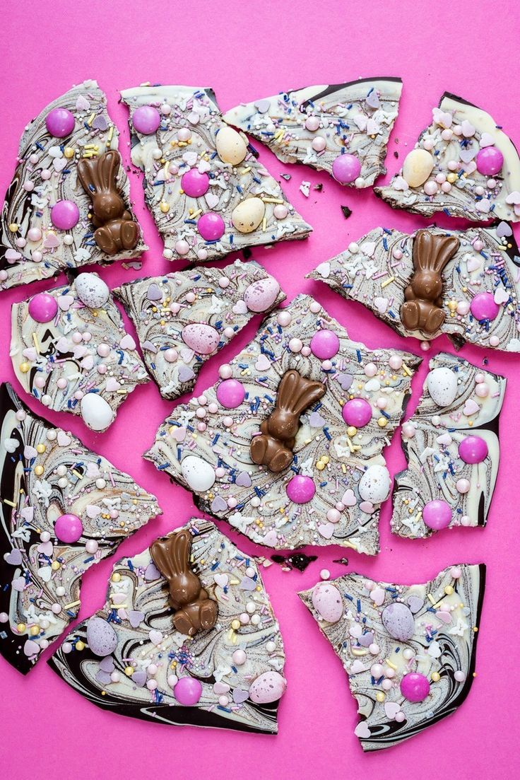 Save this Easter Chocolate Bark recipe to treat yourself in the spring.