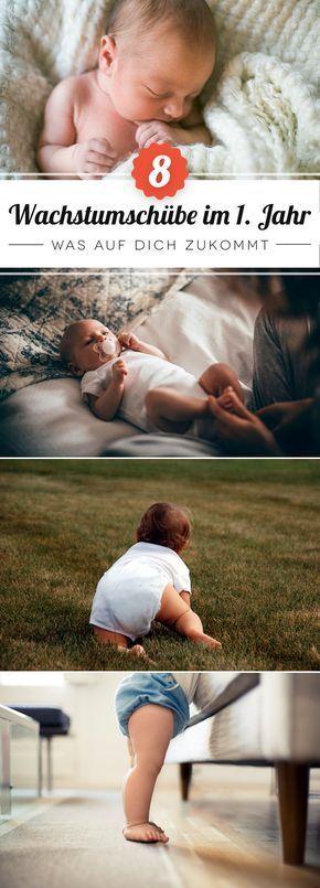 Wow, Babys erleben acht Entwicklungssprünge in nur 14 Monaten!