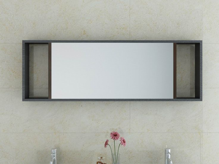 Modern Led Lighted Wall Mounted Vanity Mirror Round Shape: 1000+ Ideas About Bathroom Mirror Cabinet On Pinterest