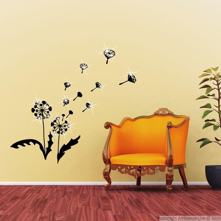 17 best images about galerie sticker pissenlits - Sticker mural pissenlit ...