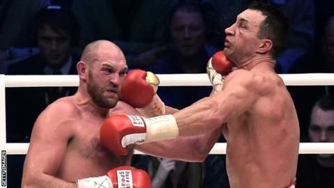 Tyson Fury and Wladimir Klitschko rematch date confirmed - BBC Sport