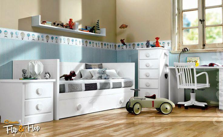 Dormitorios juveniles habitaciones infantiles y mueble - Muebles para cuarto de nina ...