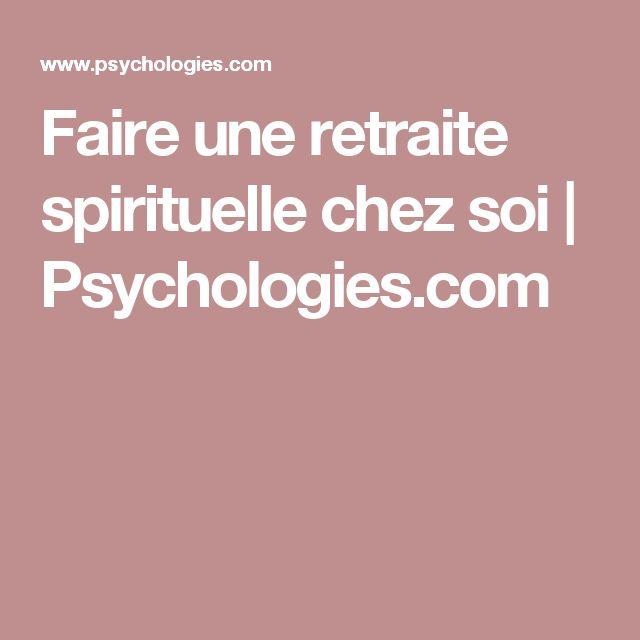 Faire une retraite spirituelle chez soi | Psychologies.com