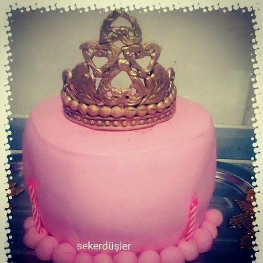 Prensescake prensespasta birthdaycake