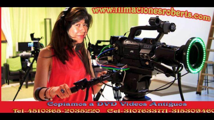 Copiamos A DVD VIDEOS Antiguos Transfer. MONTAJES RRTV Tel-4510365