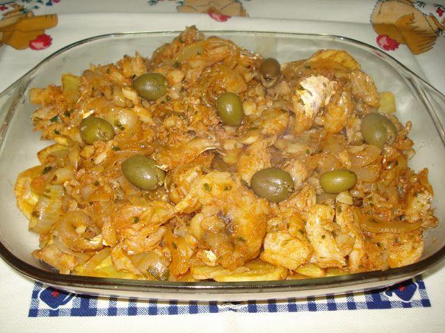 Receitas práticas de culinária: Bacalhau Bem Bom