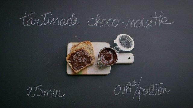 Tartinade choco-noisettes maison - sceau GLP