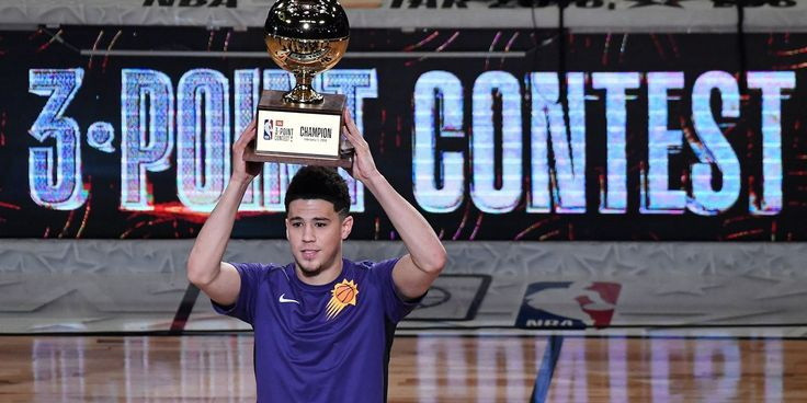awesome Devin Booker wins Three-Point Contest with record-breaking performance