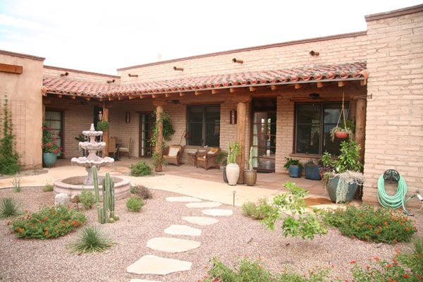 Adobe territorial homes google search adobe house for Google house design