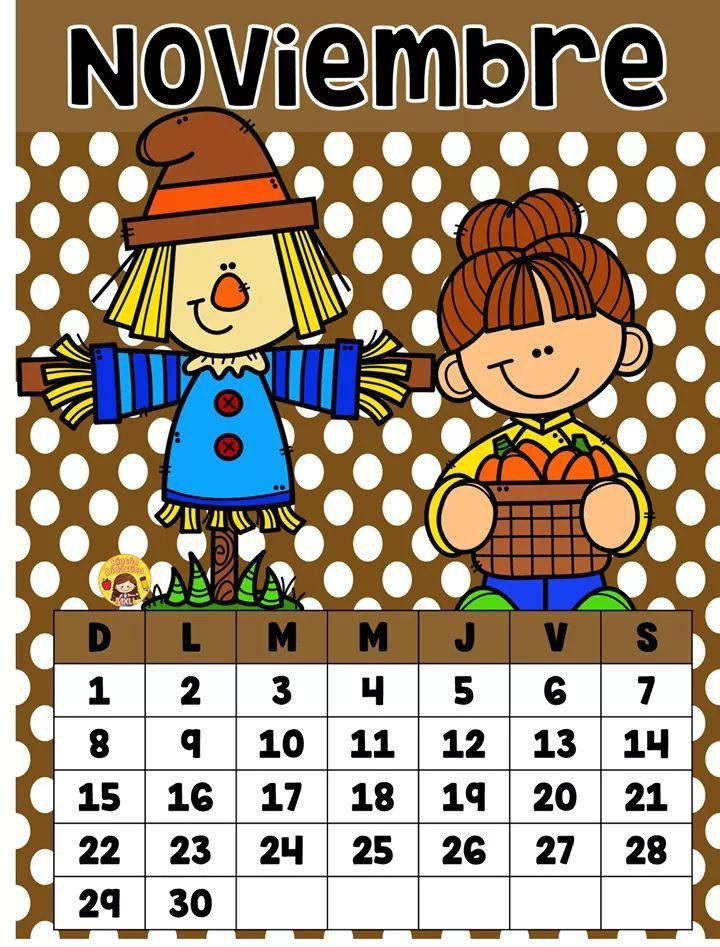 Pin de ANA en calendario en 2020 | Calendario preescolar ...