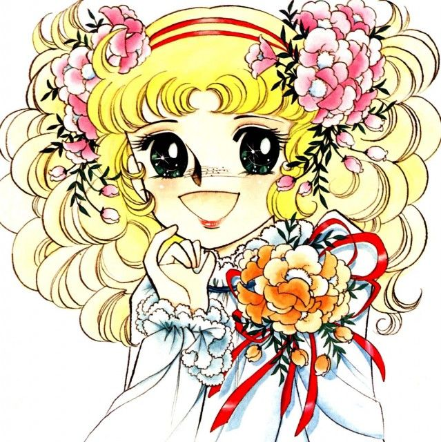 "Remember  Candy Candy? Art from ""Candy Candy"" series by manga artist Yumiko Igarashi."