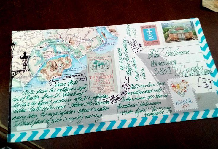 Как можно оформить почтовую открытку
