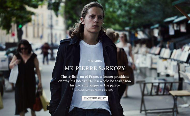 Mr Pierre Sarkozy   The Look   The Journal   MR PORTER