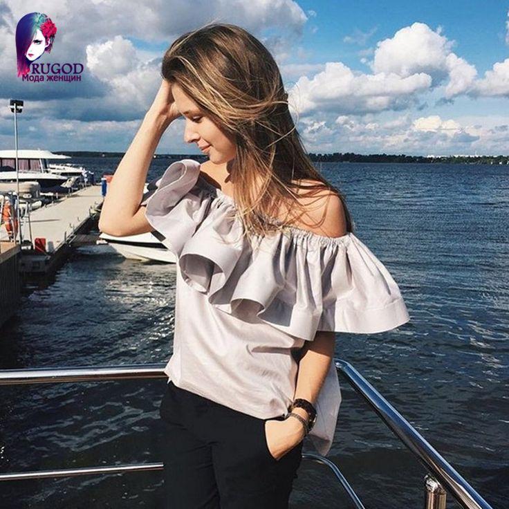 Лето новый стиль 2015 женщина возглавляет Flouncing сексуальный без бретелек мода майка женщин camisetas y топы vetement роковой с поясом купить на AliExpress