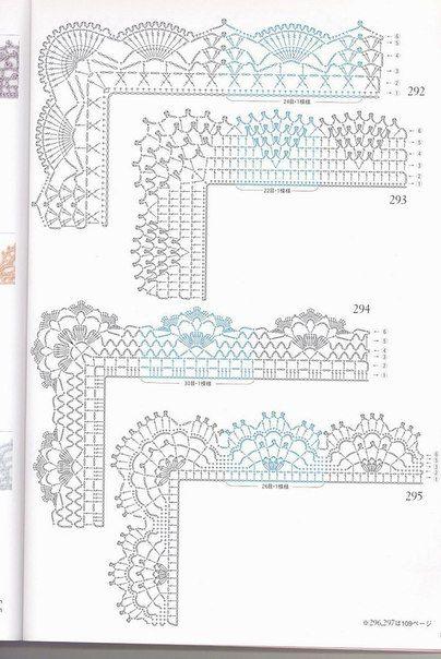M s de 17 ideas fant sticas sobre patrones con motivos de - Labores de ganchillo para principiantes ...