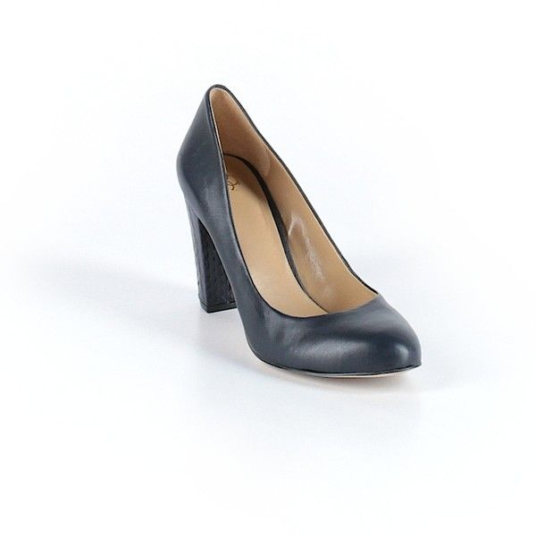Pre-owned Ann Taylor Mule/Clog Size 7: Navy Blue Women's Shoes ($38) ❤ liked on Polyvore featuring shoes, navy blue, mule shoes, ann taylor shoes, navy clogs, clogs footwear and mules clogs shoes