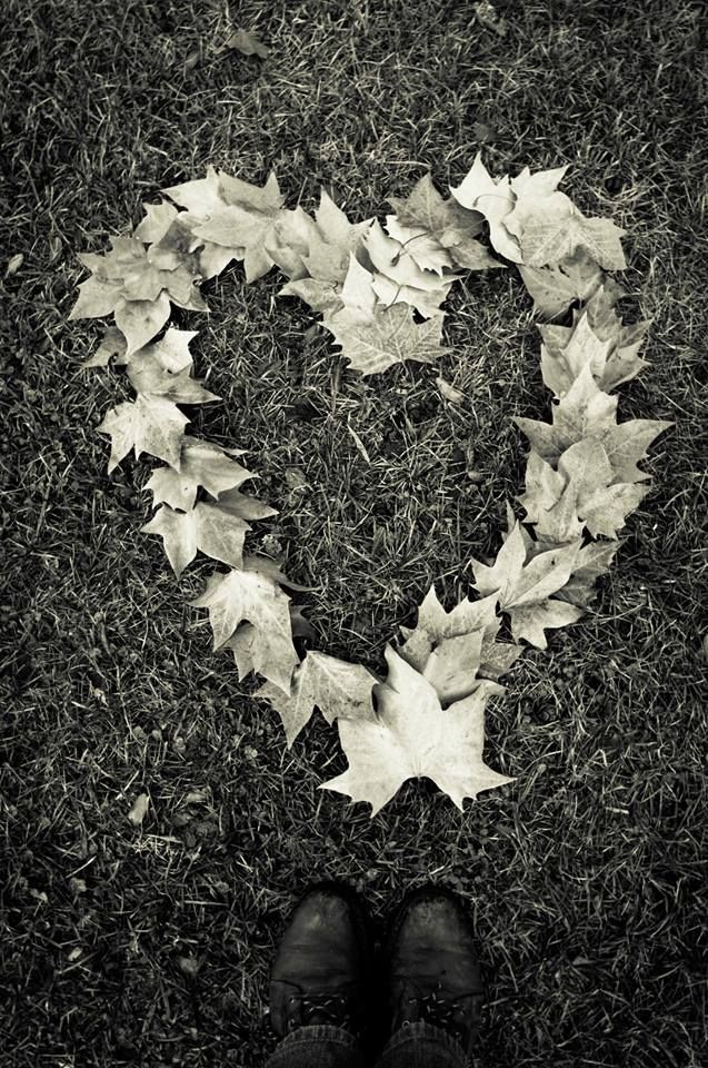 My heart is made of autumn leaves!