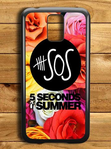 5 Second Of Summer Roses Samsung Galaxy S5 Case