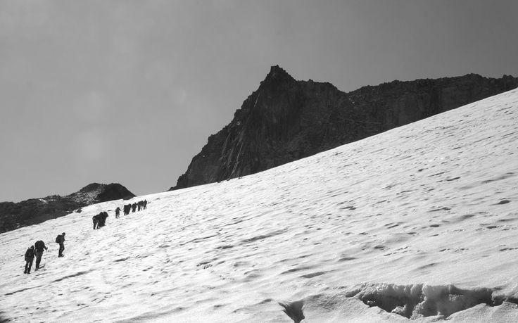 Pico Aneto glacier... A stunning climb