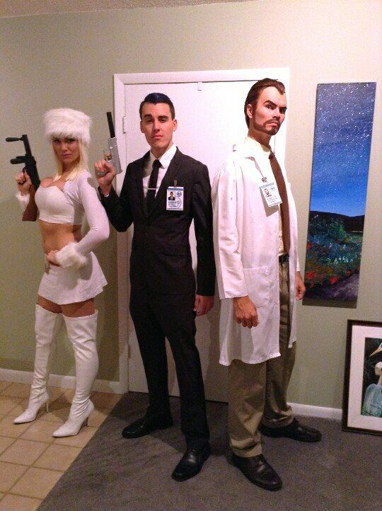 Archer group! Sterling, Katya, and of course Krieger. #archer #sterlingarcher #cosplay #costume #katyakasanova