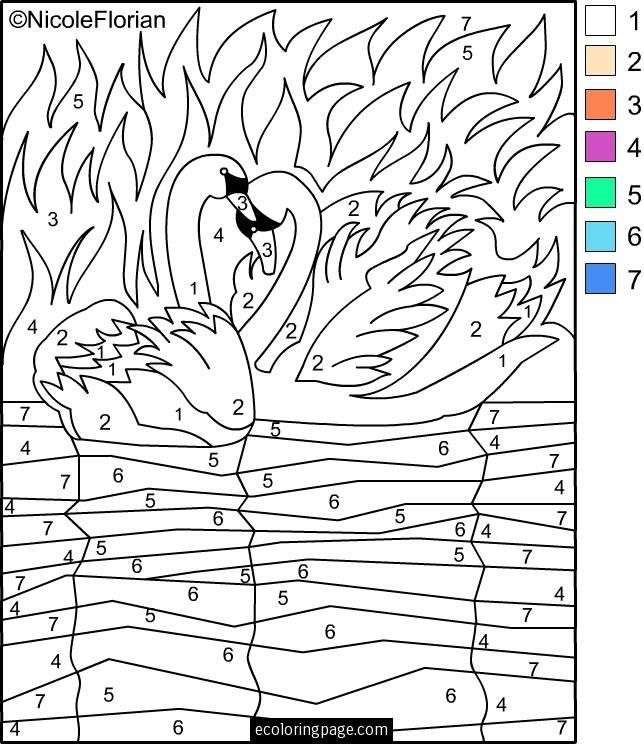 music coloring pages by numbers - photo#19