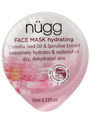 This Best of Beauty-winning single-serve moisturizing mask from Nugg leaves dry skin soft and dewy.