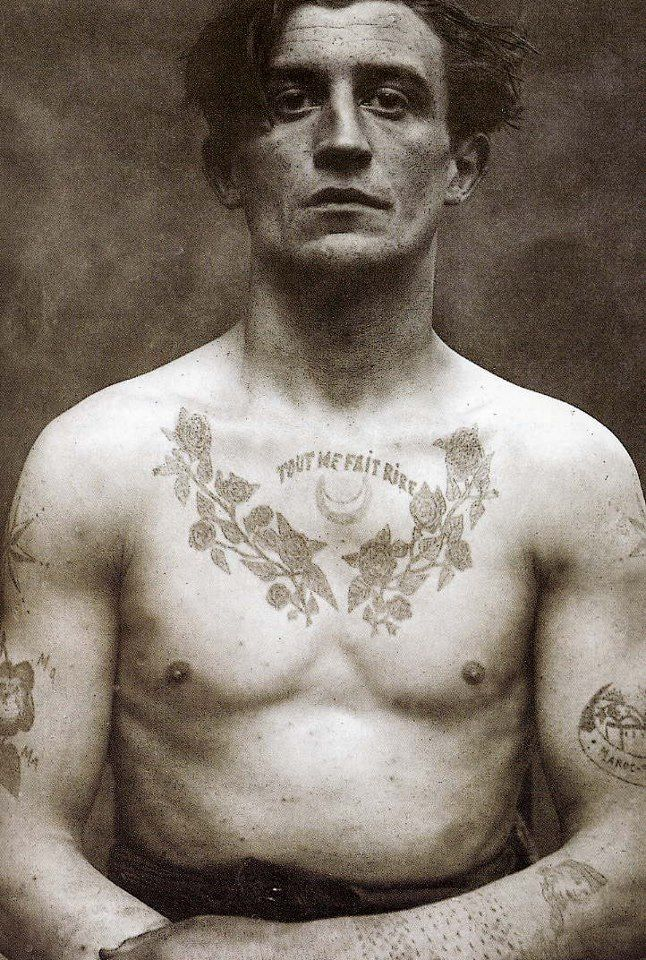 1000 ideas about old tattooed people on pinterest old for Anthony french tattoo