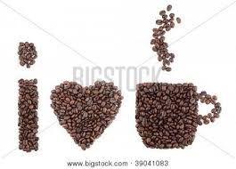 Resultado de imagen para manualidades hechas con granos de cafe