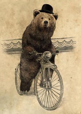 キコキコキコ「死んだふりですか…熊は死肉も食べるのでお勧めしませんが…それじゃ」キコキコキコ