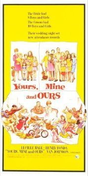 Yours, Mine and Ours (1968) Poster