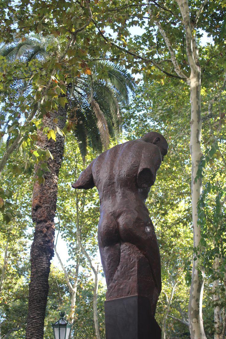 Guardião II - Escultura de Rogério Timóteo