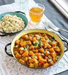 Rezept: Butternut-Kürbis-Kokos-Curry