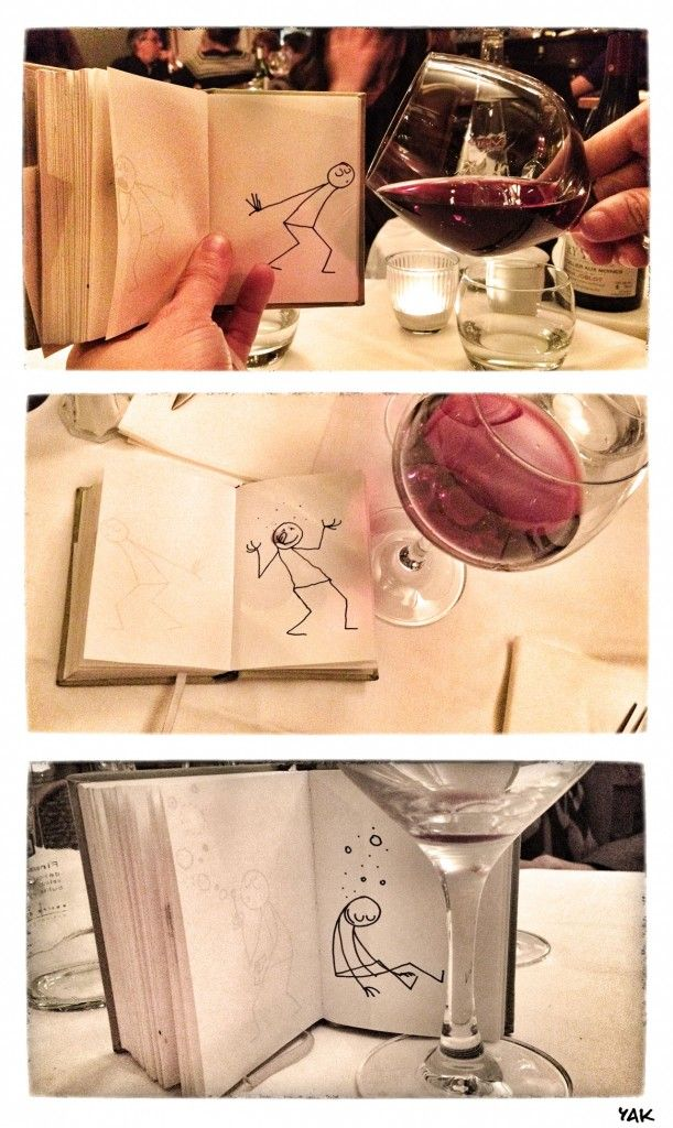 A glass of Wine   Full story