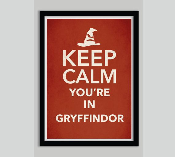 Keep Calm Harry Potter Movie Poster Print Slytherin by POSTERED