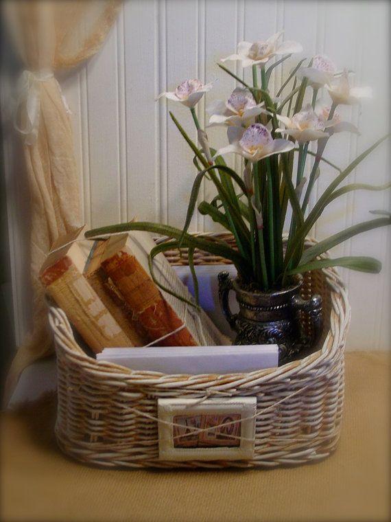 Painted Craft Basket