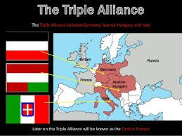 Triple Alliance included Germany, Austria-Hungary, and Italy.
