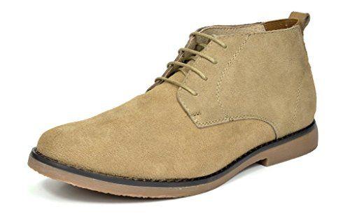 BRUNO MARC MODA ITALY CHUKKA Men's Classic Original Suede Leather Desert Storm chukka boots SAND SIZE 8.5