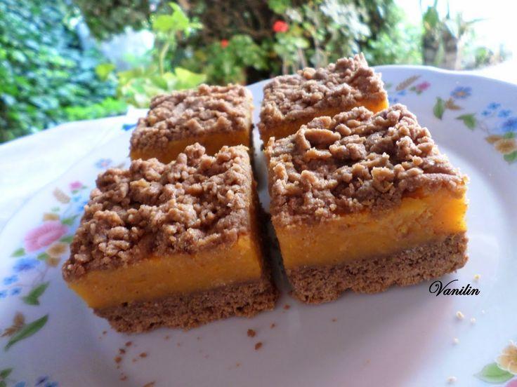 Süss Vanilinnel!: Sütőtökös-kakaós morzsás süti