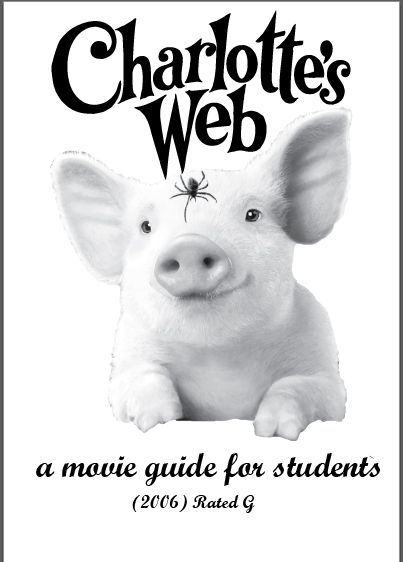 Charlotte's Web Movie Guide: An oldie but a goody! Watching the movie after reading the book is an effective way to solidify what was learned! https://www.teacherspayteachers.com/Product/Movie-Guide-Charlottes-Web-G-2006-2371968