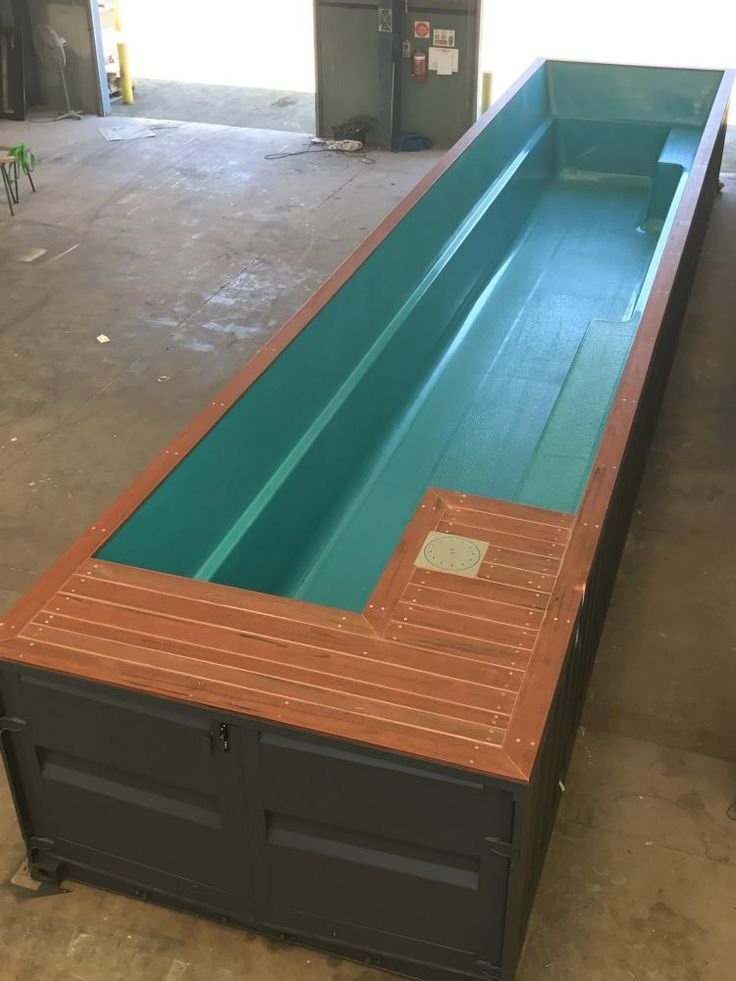 Shipping Container Pools Swimming Pools Made From Shipping