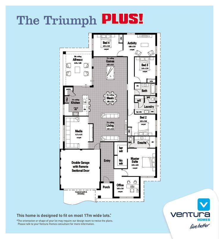The Norfolk Ventura Homes my modern home Pinterest Modern - copy blueprint homes wa australia