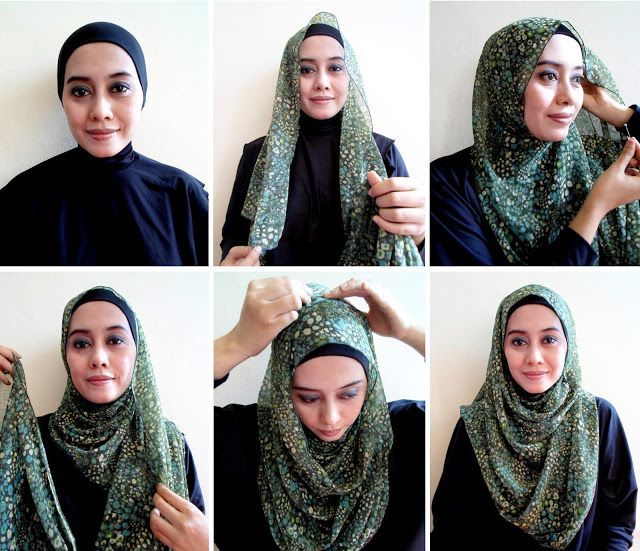 Tutorial Hijab By Mayra Hijab: Tutorial Jilbab Pashmina Simple untuk Kerja