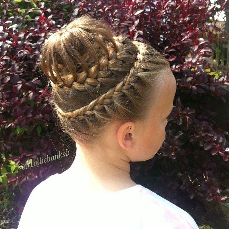 Makeup Tutorials Bun Hairstyles Makeup Tutorials: Gymnastics Hairstyles