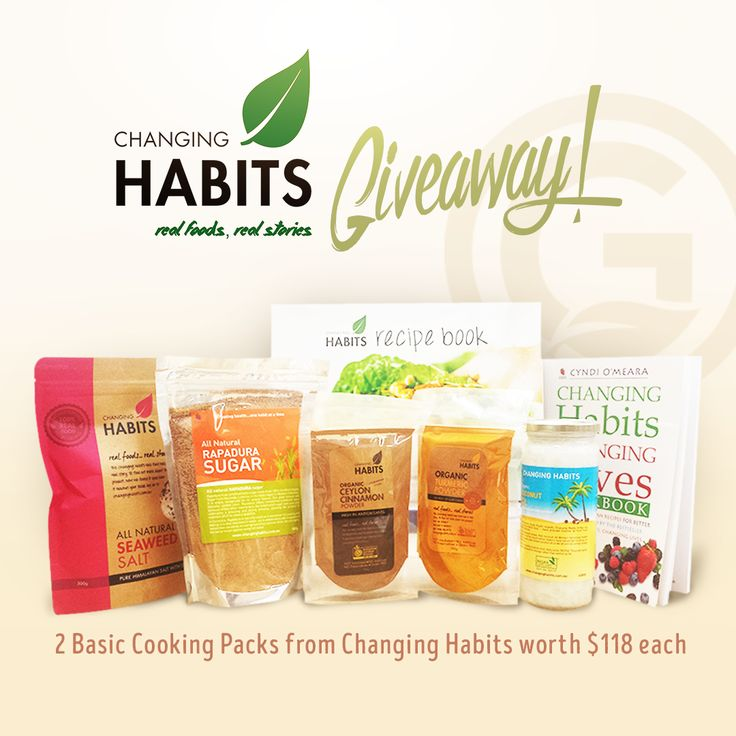 Changing Habits Giveaway