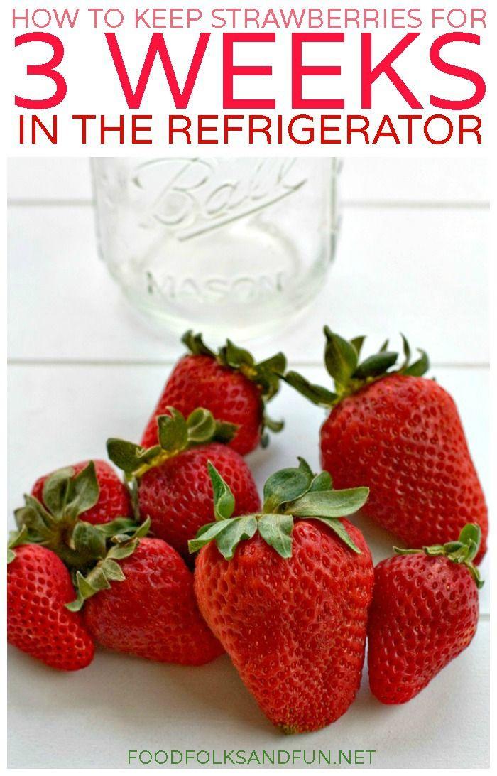 Cómo hacer que tus fresas duren más!