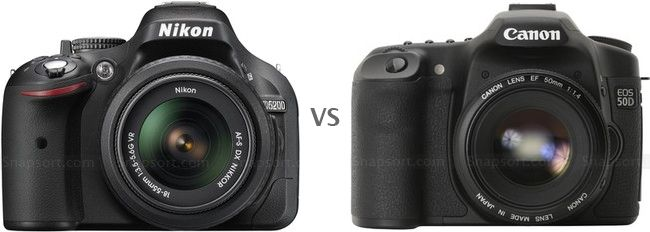 Compare cameras head to head