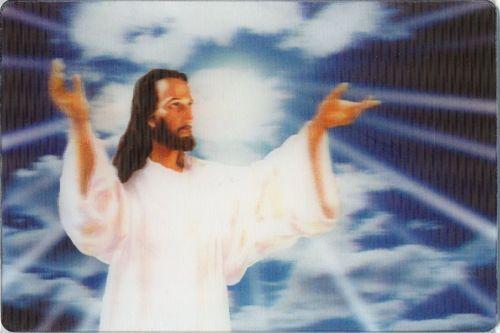 3D Postcard Jesus Outreach Greeting Card LPC JC | eBay