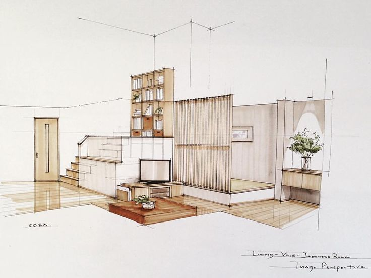 best 25+ interior sketch ideas only on pinterest | pencil sketches