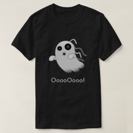 Terrifying Ghost Emoji T-Shirt - tap, personalize, buy right now!